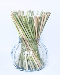 Dried grass straw