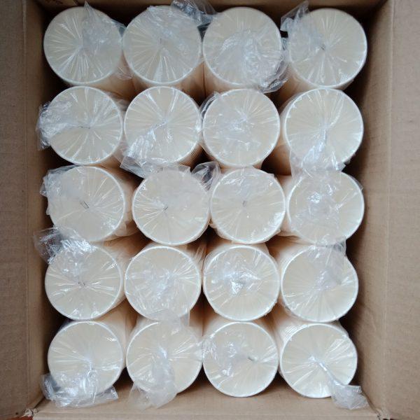 Thùng 100 ly giấy trắng 180ml